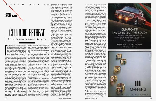 Article Preview: CELLULOID RETREAT, December 1983 1983 | Vanity Fair