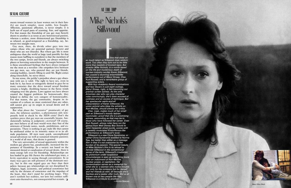 Mike Nichols's Silkwood