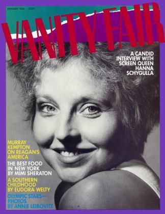 January 1984 | Vanity Fair