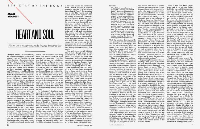 Article Preview: HEART AND SOUL, February 1984 1984 | Vanity Fair