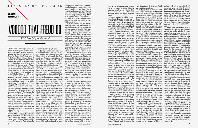 Article Preview: VOODOO THAT FREUD DO, March 1984 | Vanity Fair