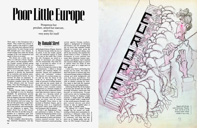 Article Preview: Poor Little Europe, March 1984 | Vanity Fair