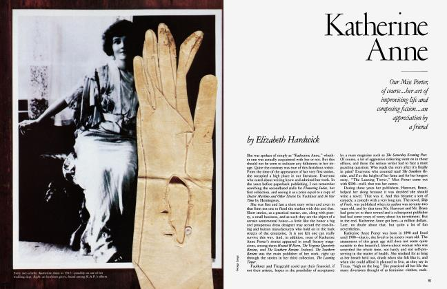 Article Preview: Katherine Anne, March 1984 | Vanity Fair