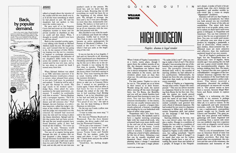 HIGH DUDGEON