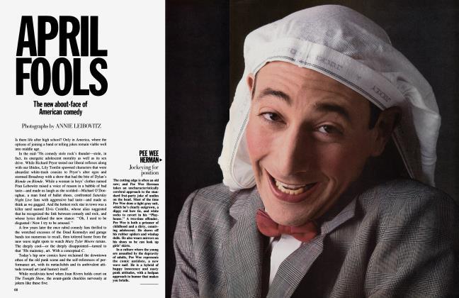 Article Preview: APRIL FOOLS, April 1984 1984   Vanity Fair
