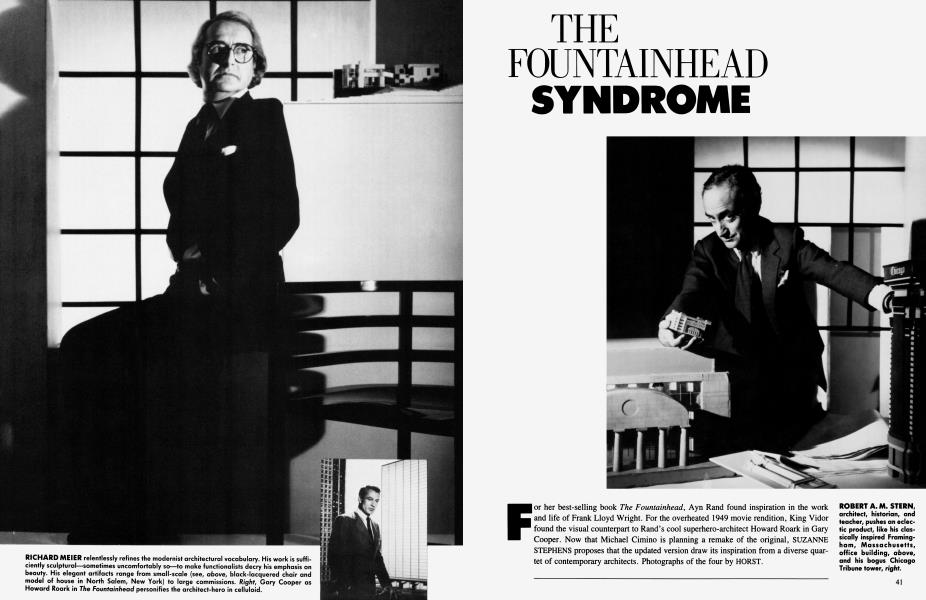 THE FOUNTAINHEAD SYNDROME