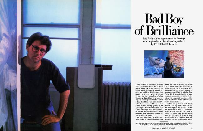 Article Preview: Bad Boy of Brilliance, May 1984 1984   Vanity Fair