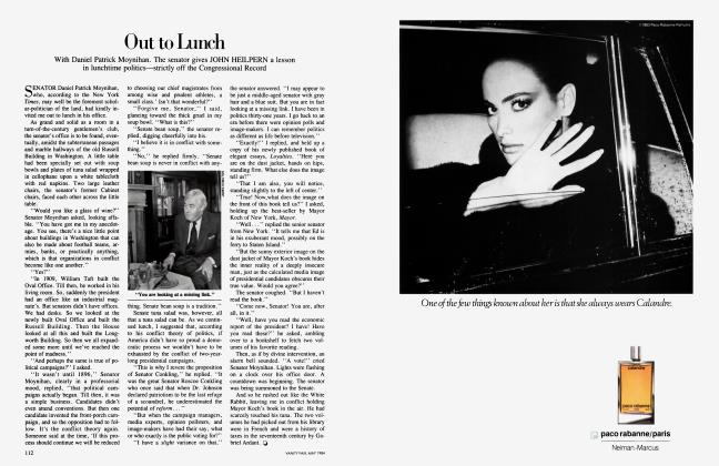 Article Preview: Out to Lunch, May 1984 1984 | Vanity Fair