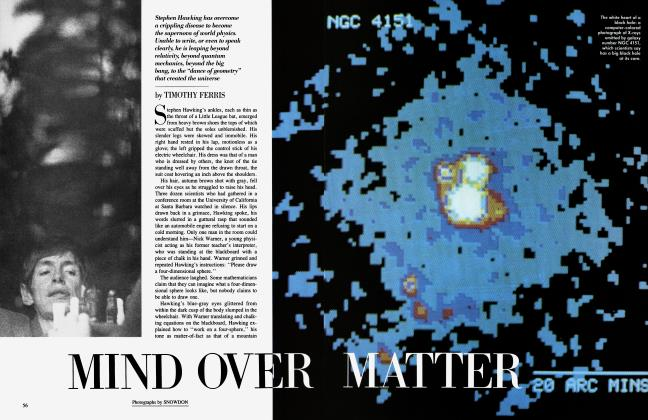 Article Preview: MIND OVER MATTER, June 1984 | Vanity Fair
