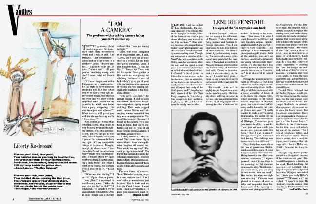 "Article Preview: ""I AM A CAMERA"", July 1984 1984 