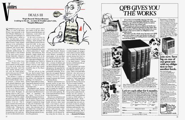 Article Preview: DEALS III, July 1984 1984 | Vanity Fair
