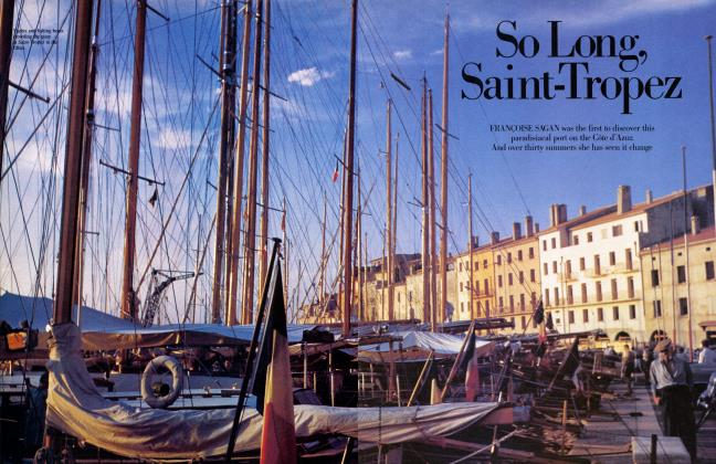 Article Preview: So Long, Saint-Tropez, July 1984 | Vanity Fair