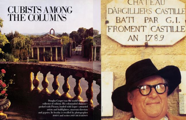 Article Preview: CUBISTS AMONG THE COLUMNS, July 1984 | Vanity Fair