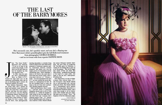 Article Preview: THE LAST OF THE BARRYMORES, July 1984 1984 | Vanity Fair