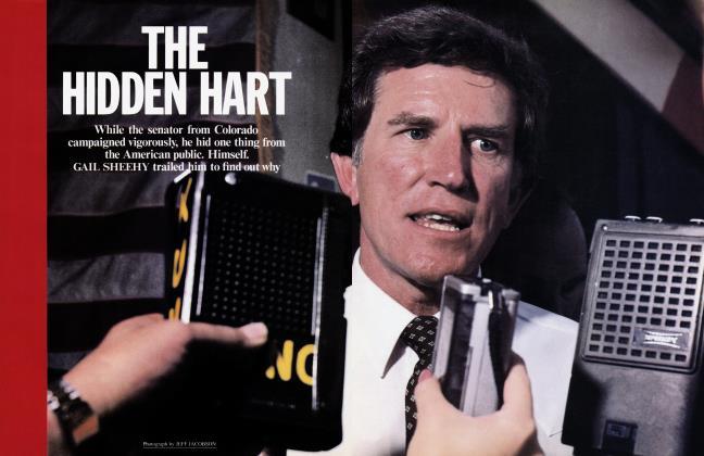 Article Preview: THE HIDDEN HART, July 1984 1984 | Vanity Fair