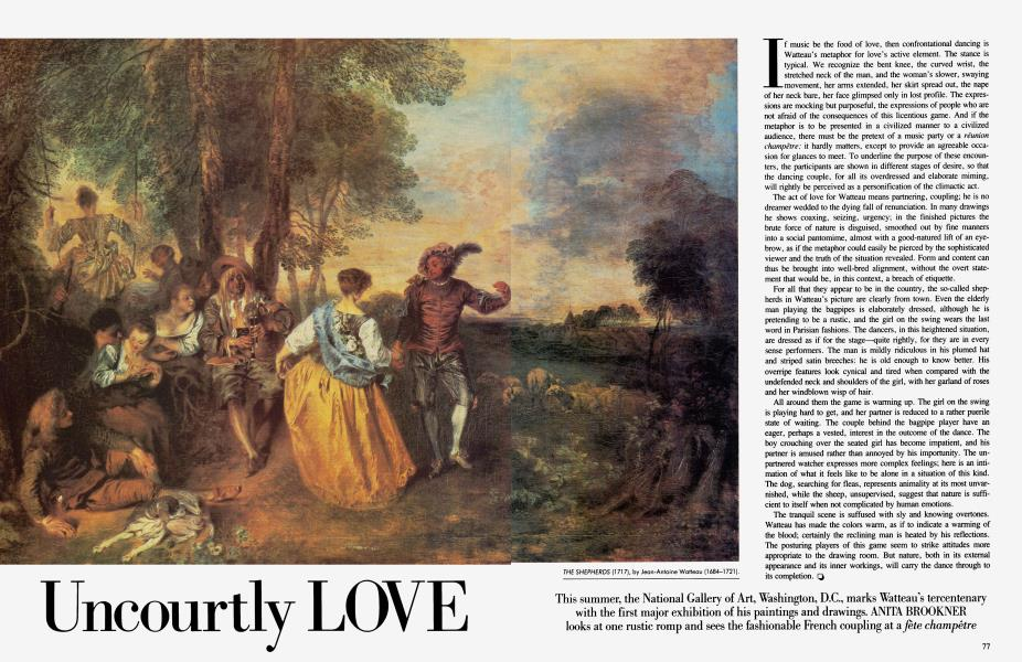 Uncourtly LOVE