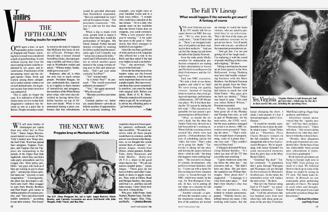 Article Preview: The Fall TV Lineup, AUGUST 1984 1984 | Vanity Fair