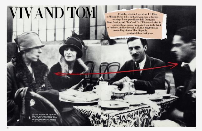 Article Preview: VIV AND TOM, August 1984 | Vanity Fair