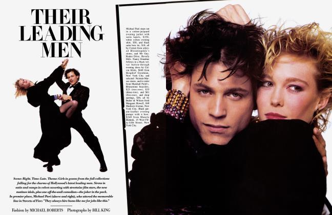 Article Preview: THEIR LEADING MEN, AUGUST 1984 1984 | Vanity Fair