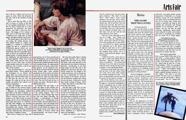 Article Preview: Movies, AUGUST 1984 1984 | Vanity Fair