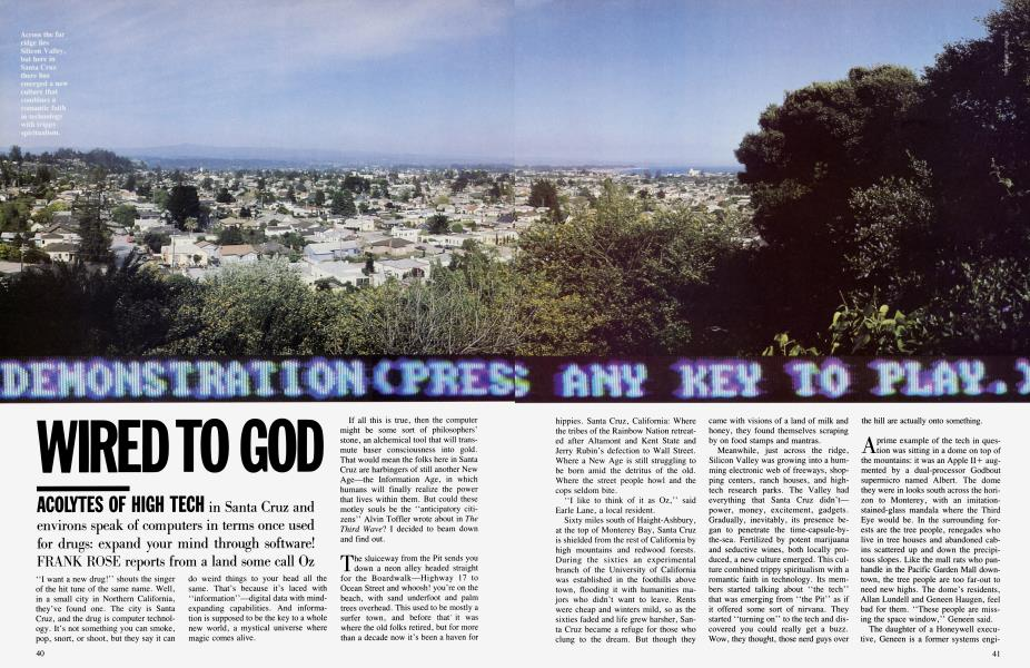 WIRED TO GOD