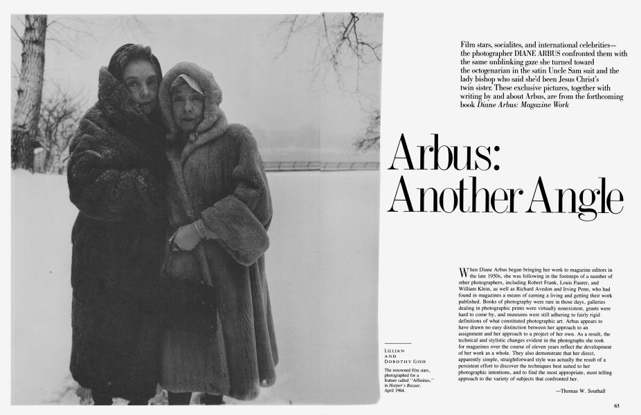 Arbus: Another Angle