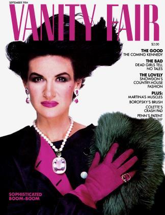 September 1984 | Vanity Fair