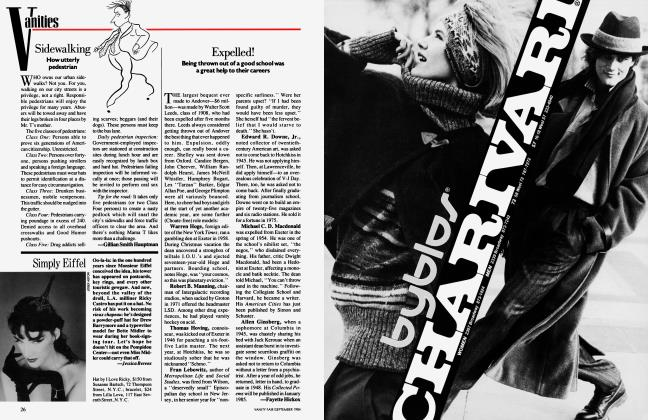 Article Preview: Simply Eiffel, September 1984 1984 | Vanity Fair