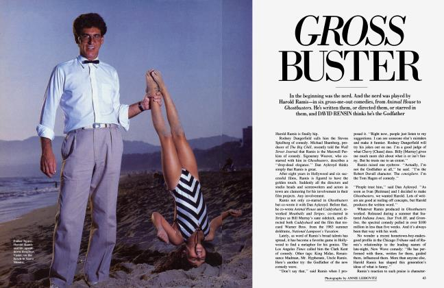 Article Preview: GROSS BUSTER, October 1984 1984 | Vanity Fair