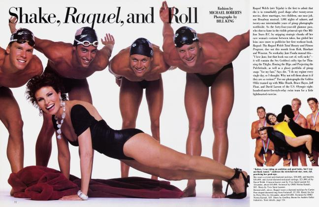 Article Preview: Shake, Raquel, and Roll, October 1984 1984 | Vanity Fair