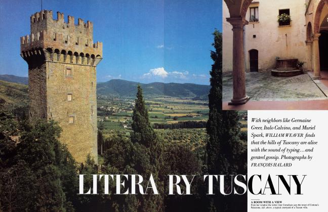 Article Preview: LITERARY TUSCANY, October 1984 1984 | Vanity Fair