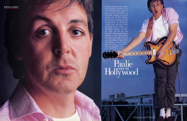 Article Preview: Paulie GOES TO HOLLywood, October 1984 1984 | Vanity Fair
