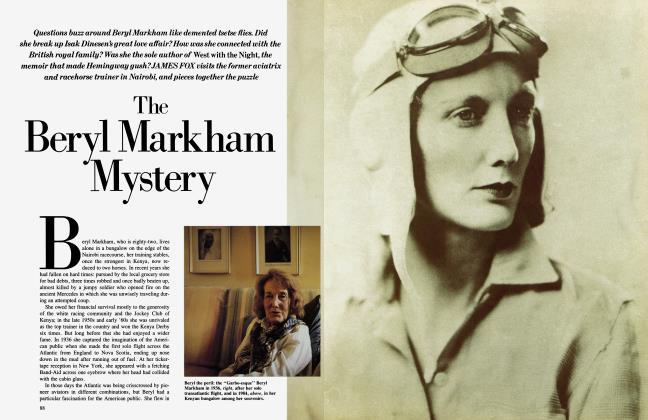 The Beryl Markham Mystery