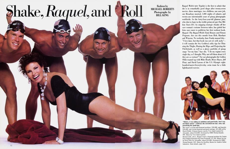 Shake, Raquel, and Roll