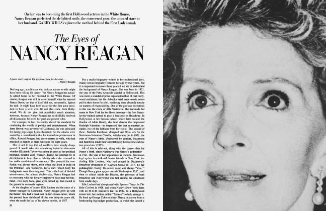 Article Preview: The Eyes of NANCY REAGAN, November 1984 1984 | Vanity Fair