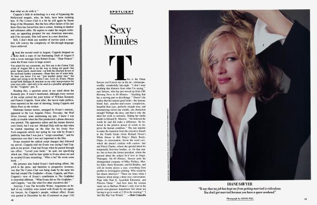 Article Preview: Sexy Minutes, November 1984 1984 | Vanity Fair