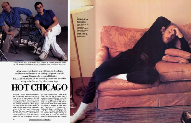 Article Preview: HOT CHICAGO, November 1984 | Vanity Fair