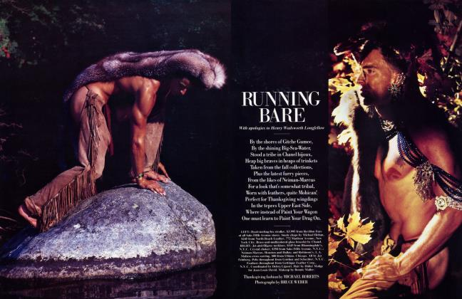 Article Preview: RUNNING BARE, November 1984 1984 | Vanity Fair