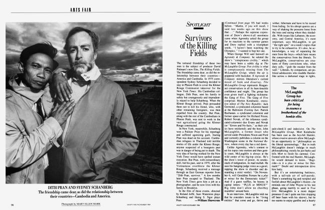 Article Preview: Survivors of the Killing Fields, November 1984 1984 | Vanity Fair