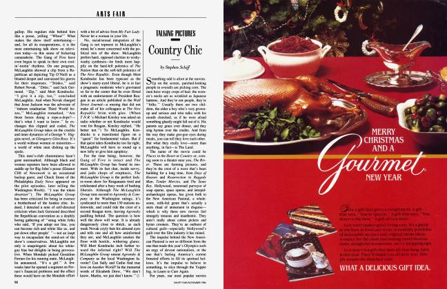 Article Preview: Country Chic, November 1984 1984 | Vanity Fair