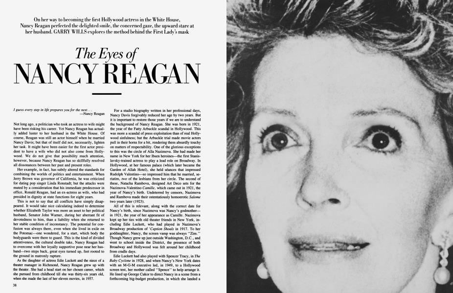 The Eyes of NANCY REAGAN