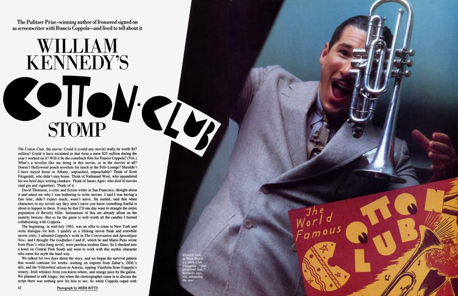WILLIAM KENNEDY'S COTTON·CLUB STOMP