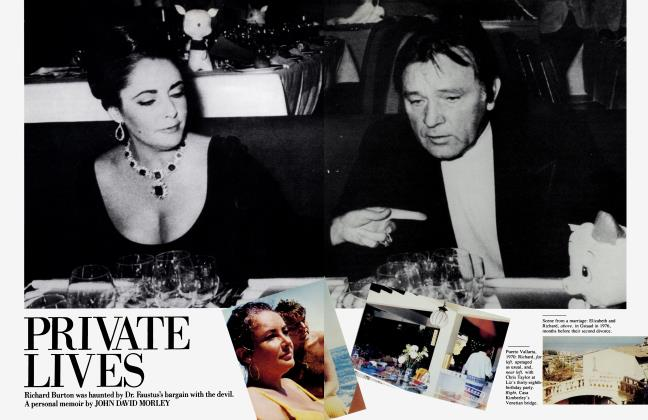Article Preview: PRIVATE LIVES, December 1984 | Vanity Fair