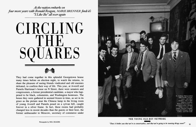 Article Preview: CRICLING THE SQUARES, January 1985 | Vanity Fair