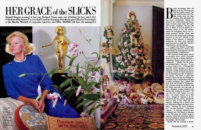 Article Preview: HER GRACE of the SLICKS, January 1985 1985 | Vanity Fair