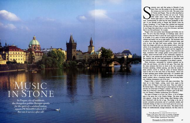 Article Preview: MUSIC IN STONE, January 1985 | Vanity Fair
