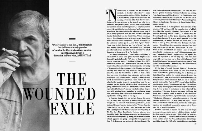 Article Preview: THE WOUNDED EXTILE, January 1985 | Vanity Fair