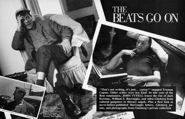 Article Preview: THE BEATS GO ON, January 1985 1985 | Vanity Fair