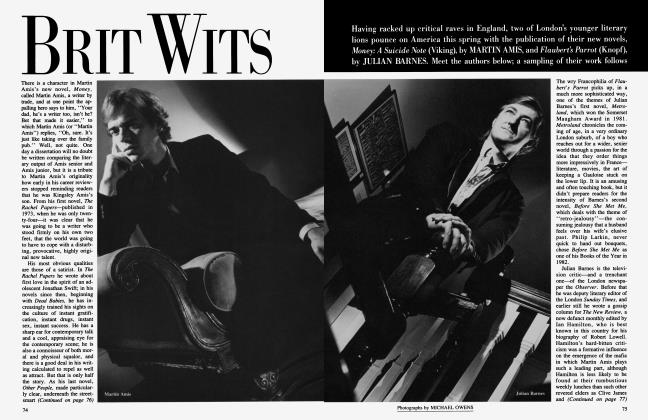 Article Preview: BRIT WITS, January 1985 1985 | Vanity Fair