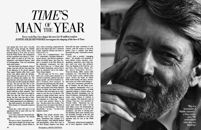 Article Preview: TIME'S MAN OF THE YEAR, January 1985 | Vanity Fair
